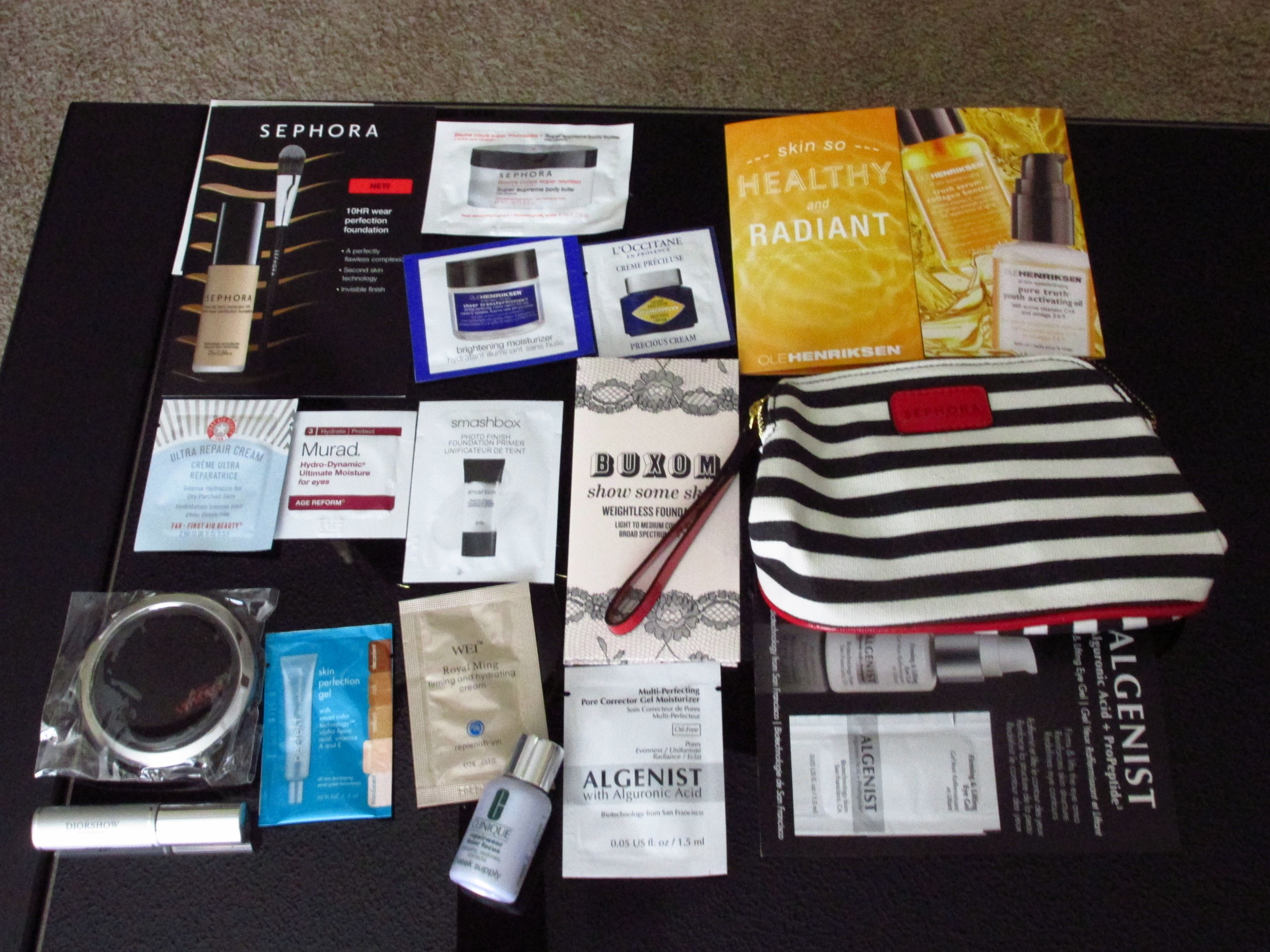 How to get free samples from sephora in store