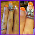 neon orange with pink dots and ring.jpg