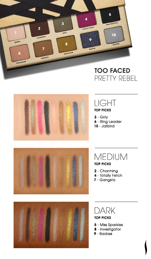 Does Sephora Do Makeup: Too Faced Pretty Rebel Eyeshadow Palette