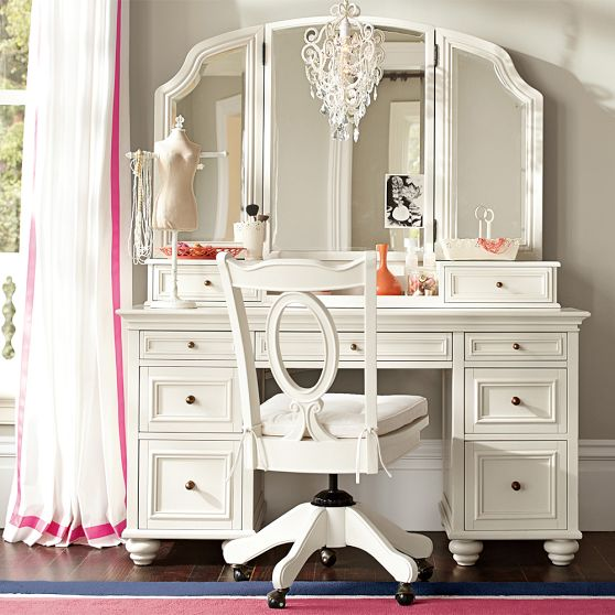 if rh Had an Elegant Vanity