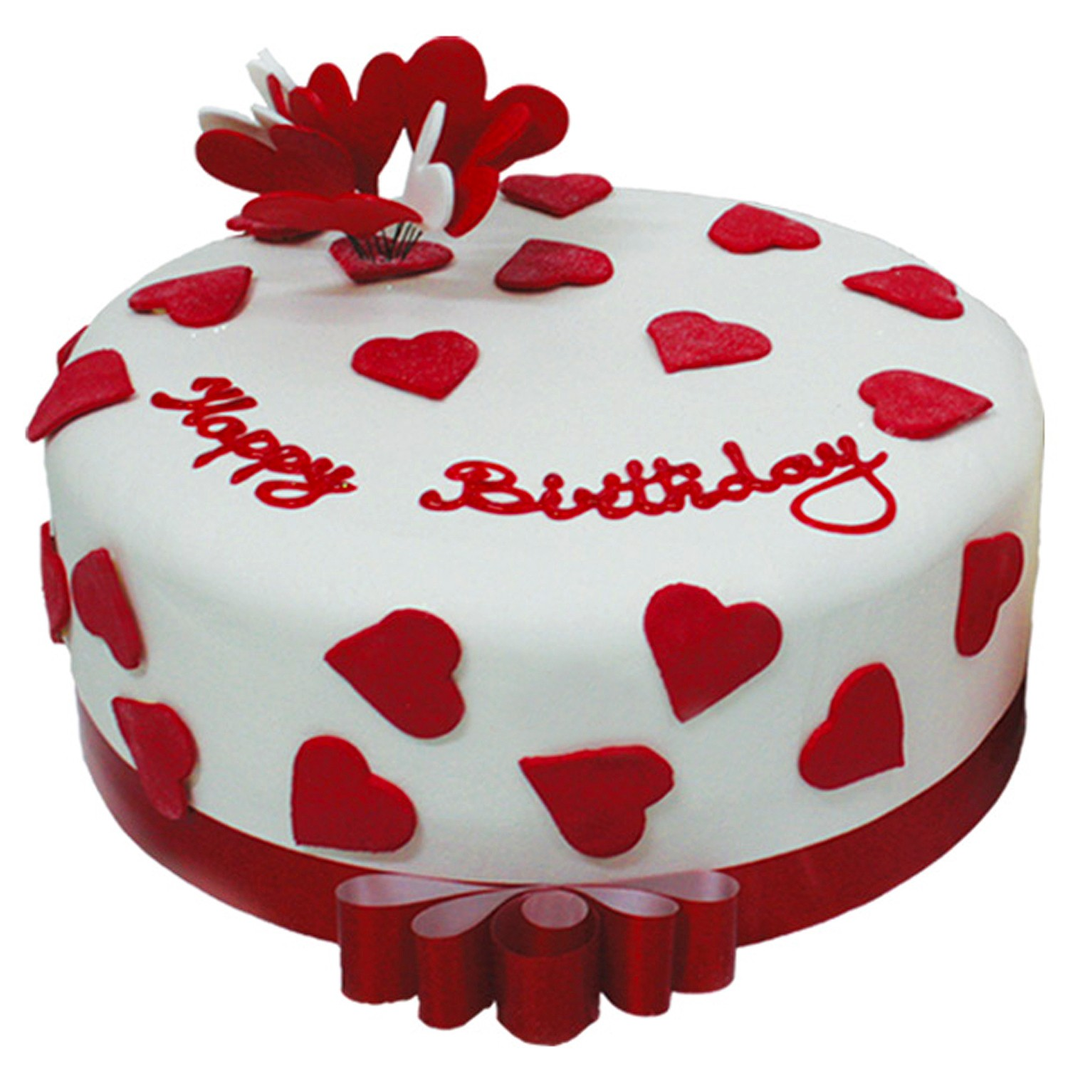 Happy Birthday Heart Cake Cute Birthdays original?v=mpbl-1&am