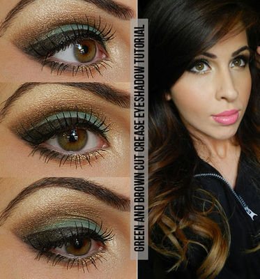 Green and Brown Eyeshadow Tutorial.jpg