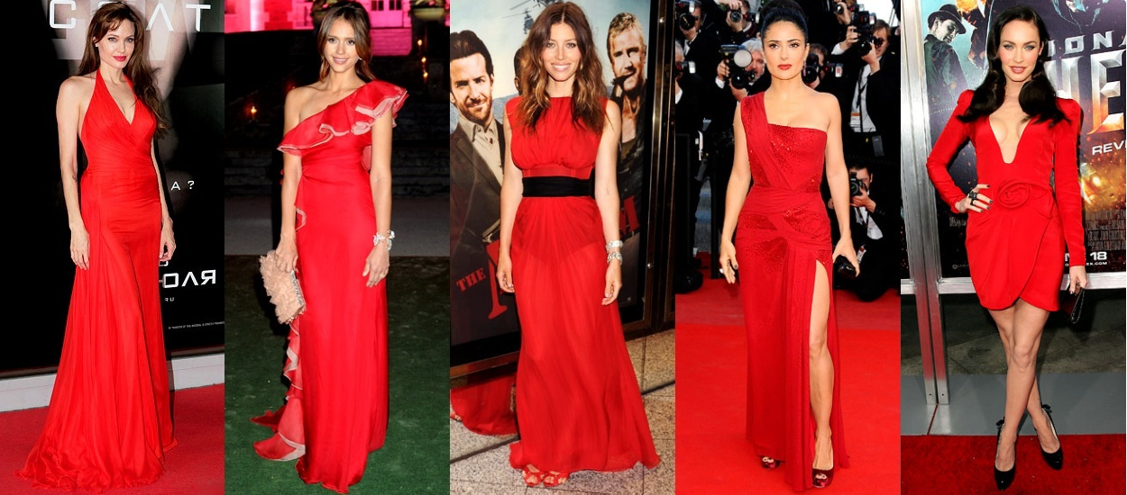 Re: Looks and Lipsticks with a red dress - BeautyTalk