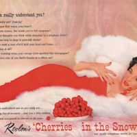 Revlon Cherries in the Snow (Dorian Leigh 1953).jpg