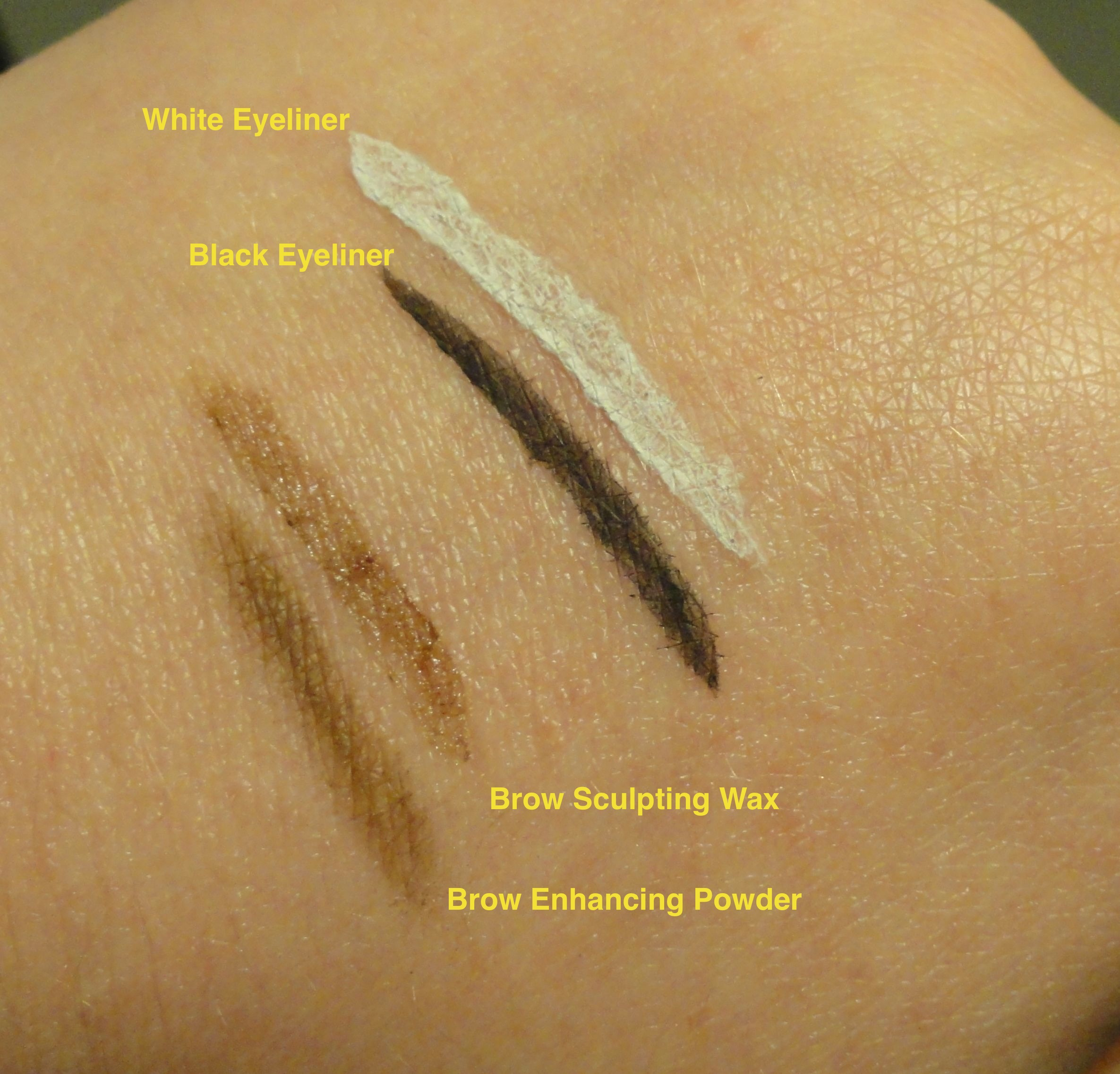 Brow and Lash Swatches Indoor Light.jpg