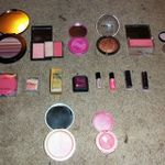 Blush and highlighters
