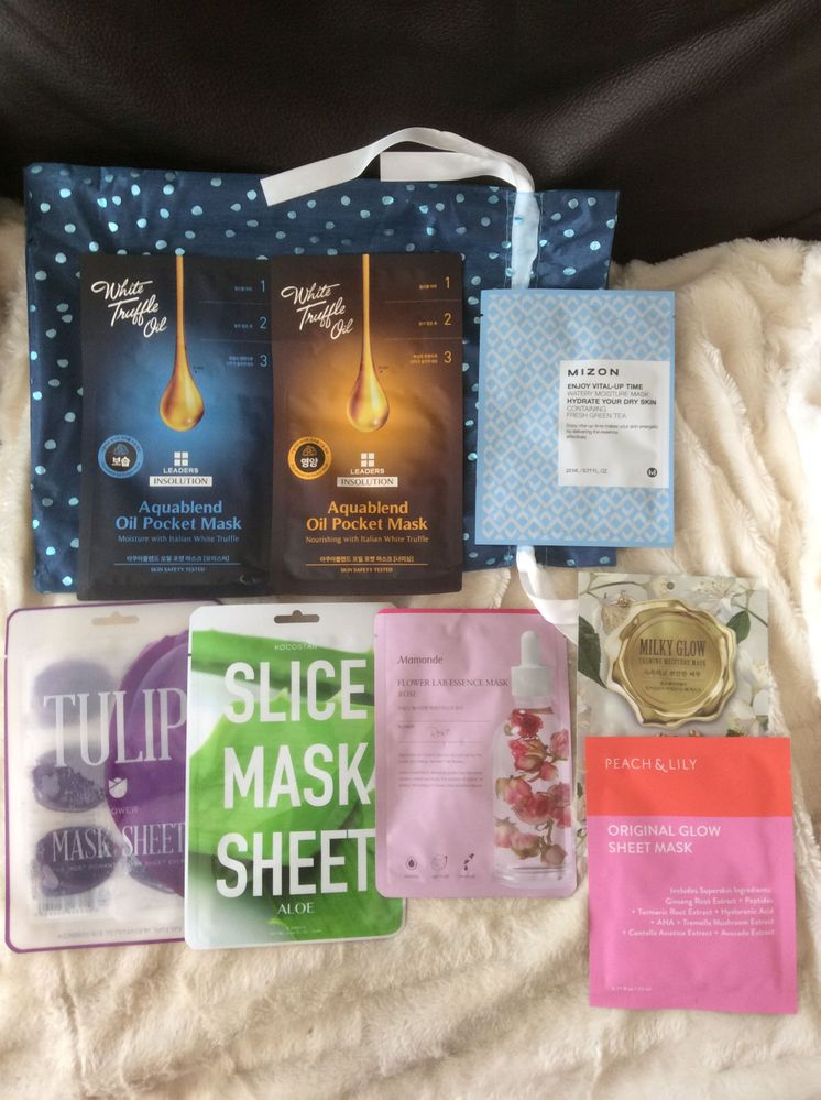 More sheet masks