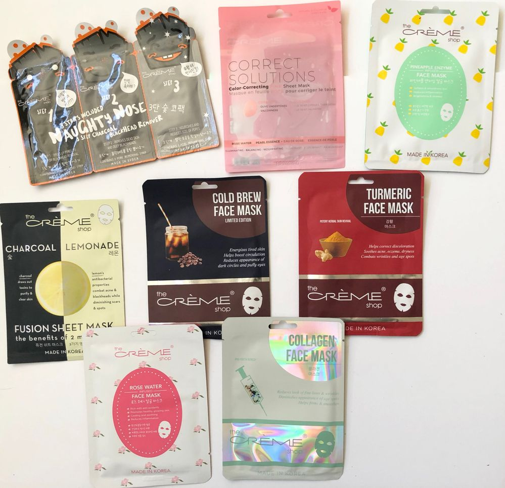 She included some of my favorite masks as well as ones I have never tried before!