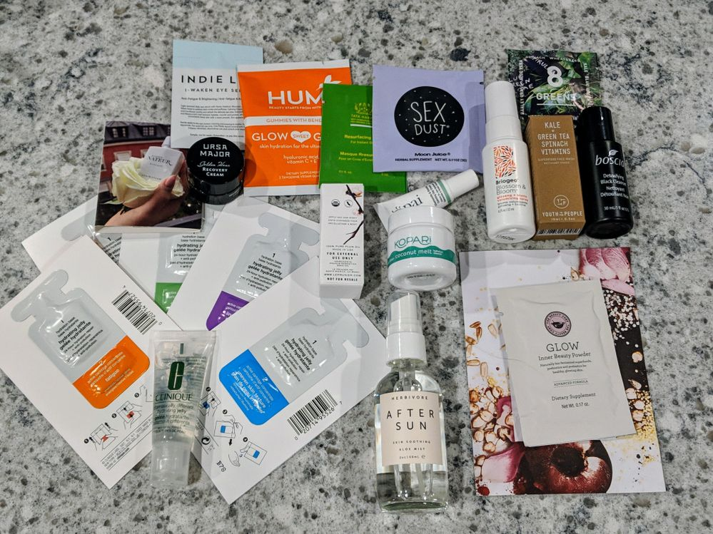 Nordstrom. I picked up the Herbivore After Sun spray and the rest was GWP. Some interesting looking supplements included in this one!