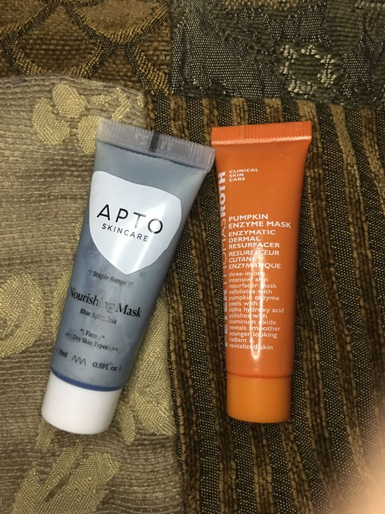 Good products, but my skin was sensitive. They worked well, didn't damage my skin, but it was way too uncomfortable. Bummer too because I loved the smell of the PTR mask.