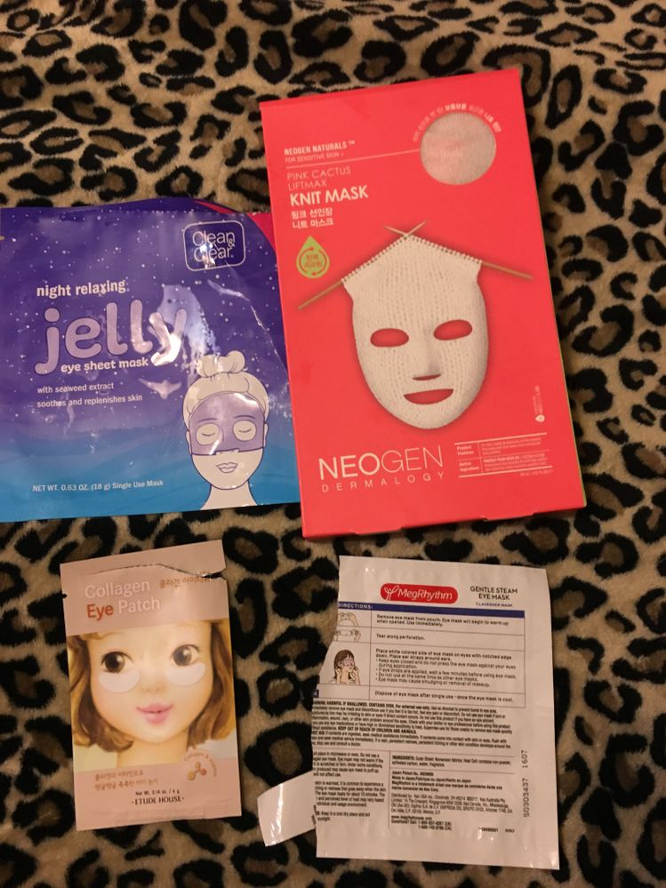 All good. Not mind blowing but I'd repurchase. The only reason I didn't put the meg eye heat pack in the best picture was that I accidentally got lavender, and that can irritate my eyes.
