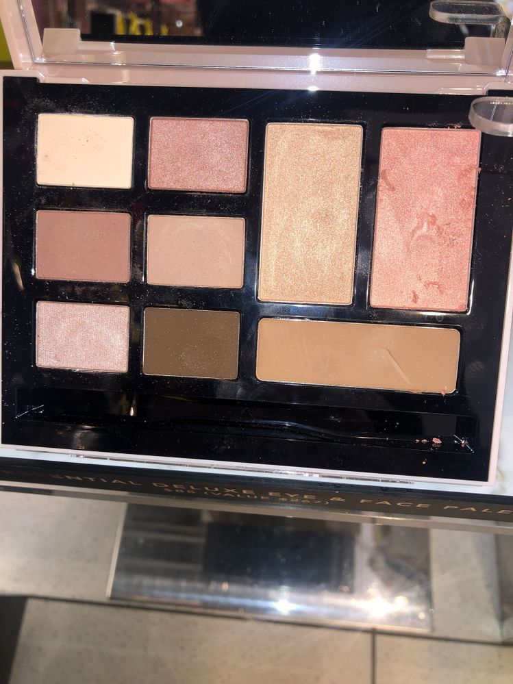 BB Essentials set with mascara also