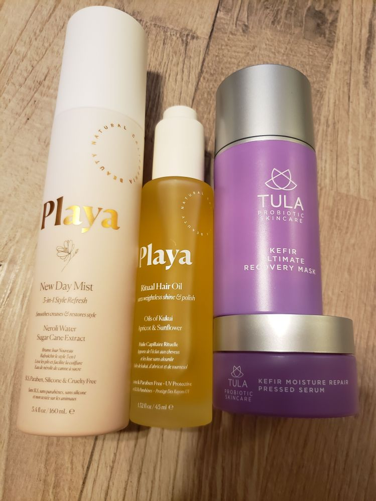 Hair and skincare