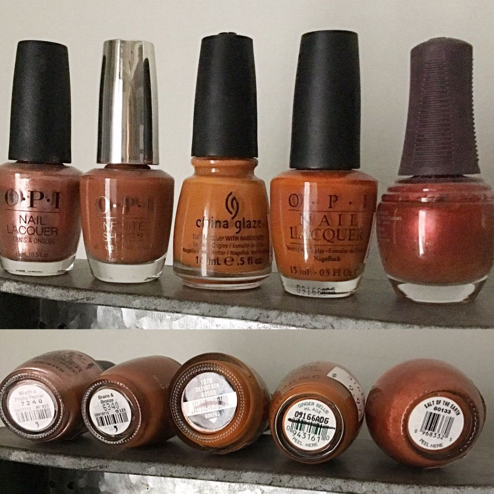These I already had (I'm trying to organize them by colour) so far I have never bought the same shade twice)