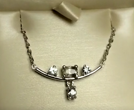 My mom's sapphire necklace