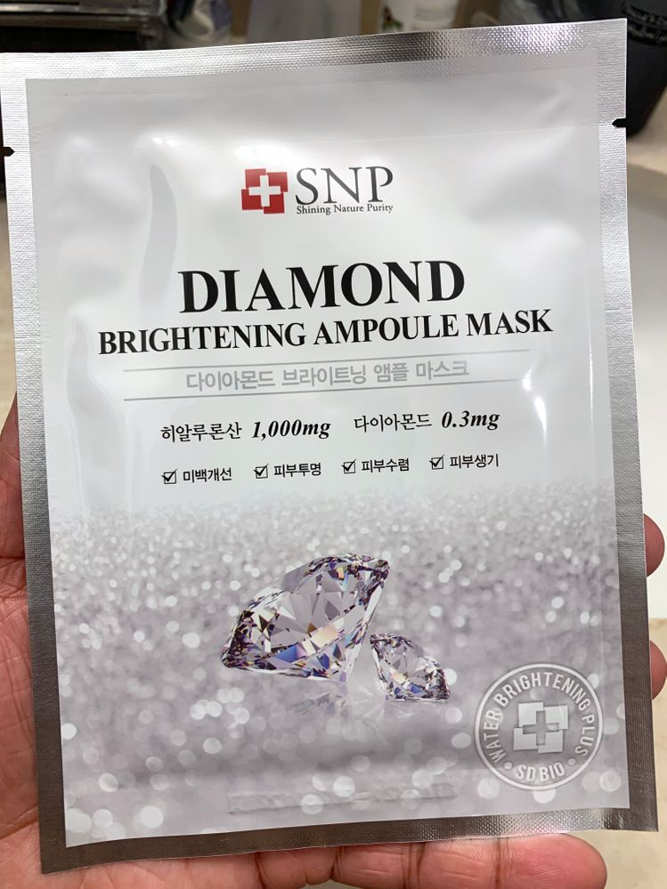 Kinda unfair to use this during my already brightening AM routine instead of PM.