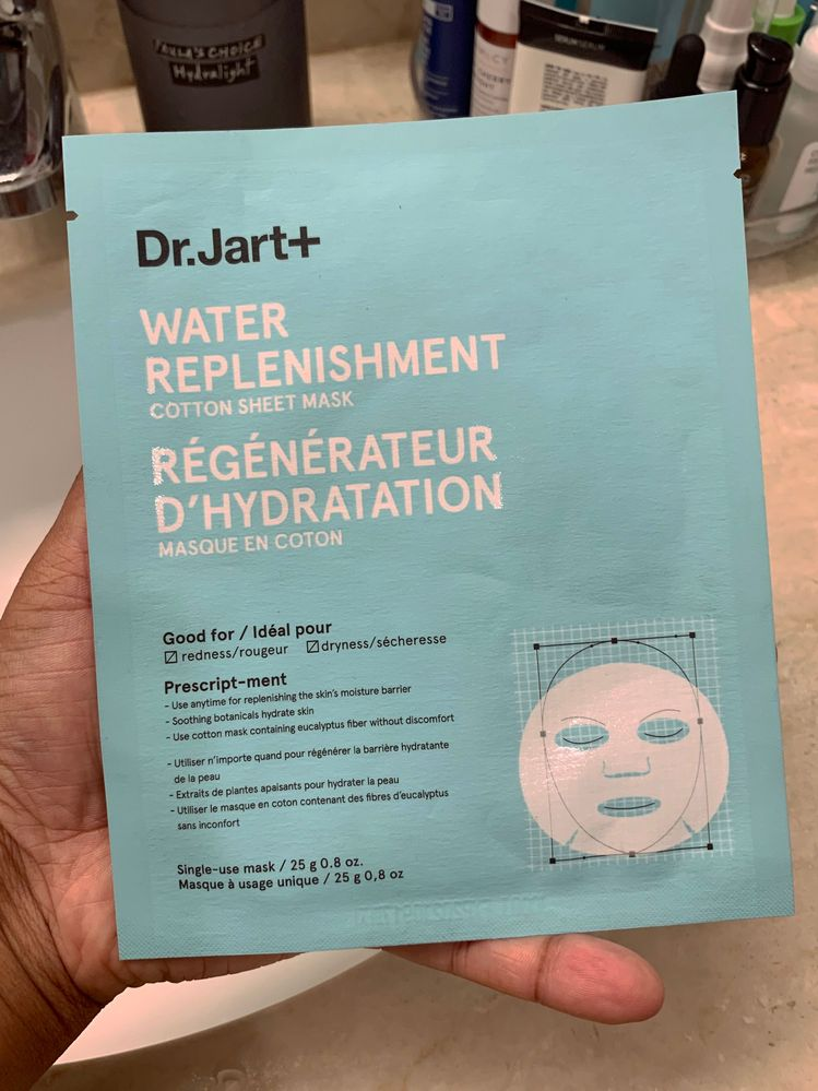 Possibly the only Dr. Jart mask I can even consider using anymore—and even this one irritates me a bit. :(