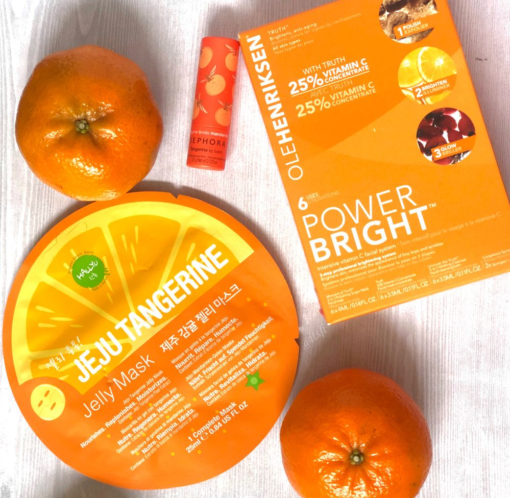 tangerines ...mmmmm...