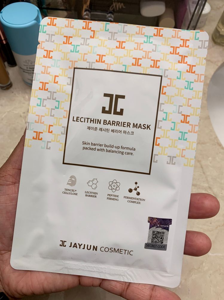 I've used several JayJun masks, but not this one.