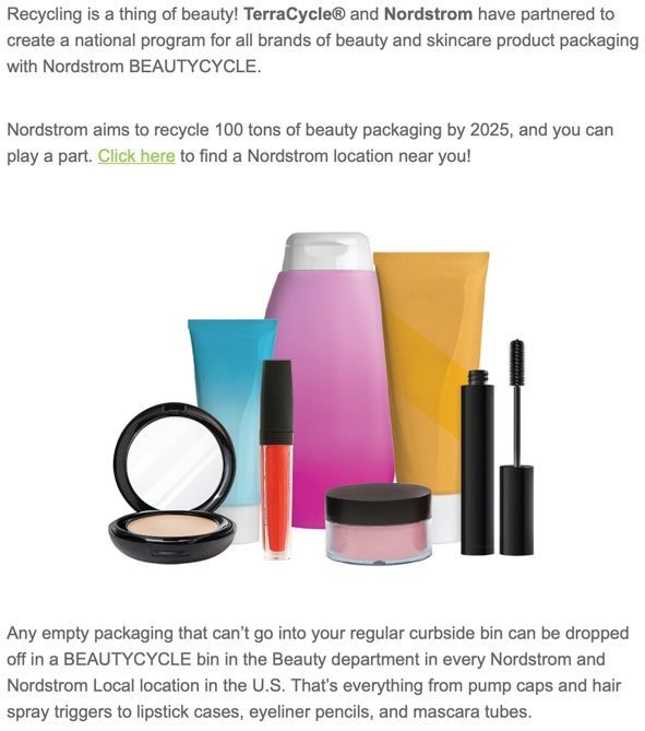 Got this email from TerraCycle yesterday. Hooray!