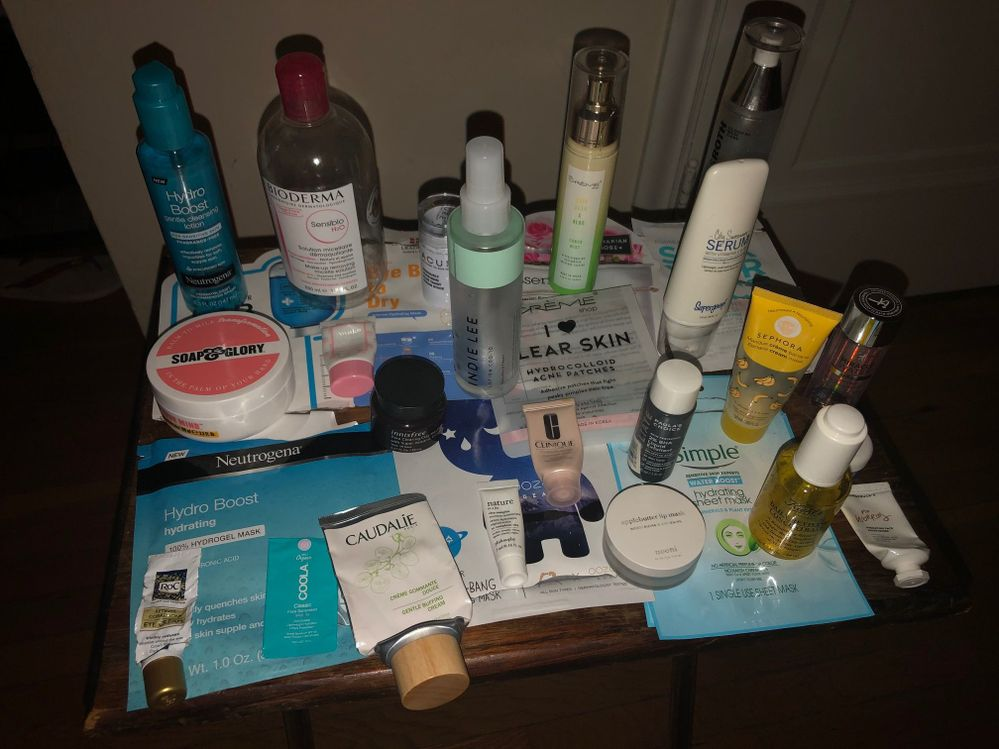 October Skincare Empties