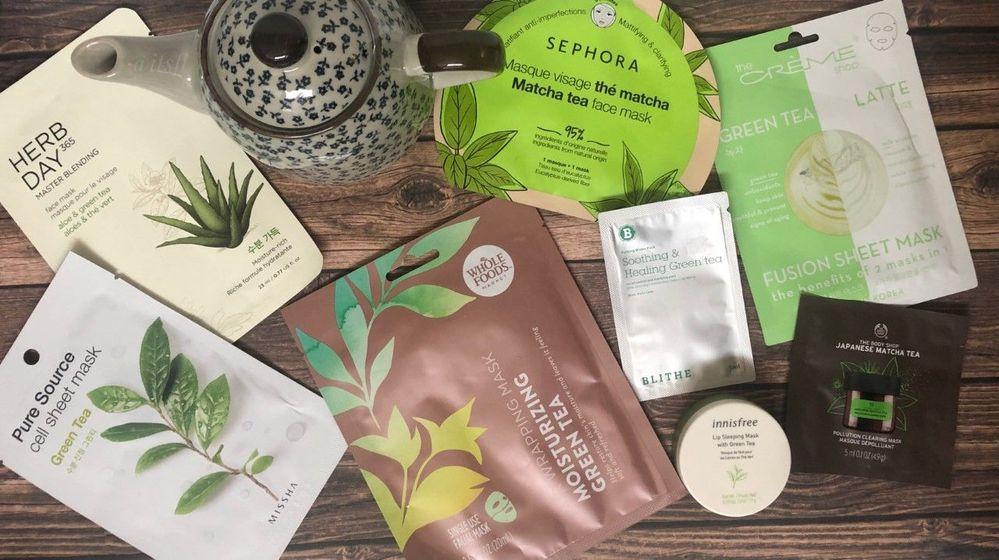 Green tea ... mmmm...