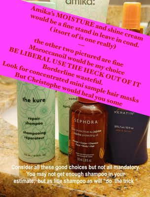 Here I am saying THE KURE it's so emollient and fatty for damaged hair I have loved it, true I like very heavy applications. It's a 10 would be a good leave in too.