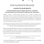 Press Release - BLND Beaute