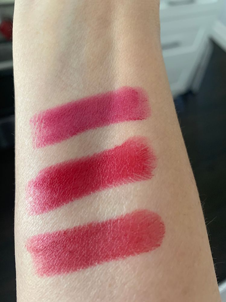 Guerlain Eternal Red, My Rouge, Caress Plum