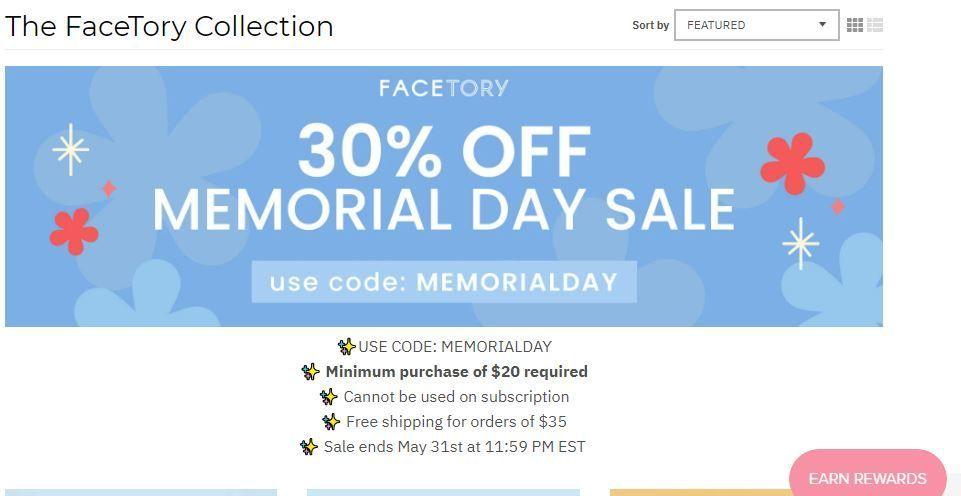 Memorial Day Sale - Facetory.JPG