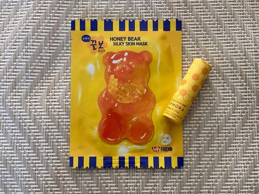 JellyFRIEN Honey Bear Silky Skin Mask