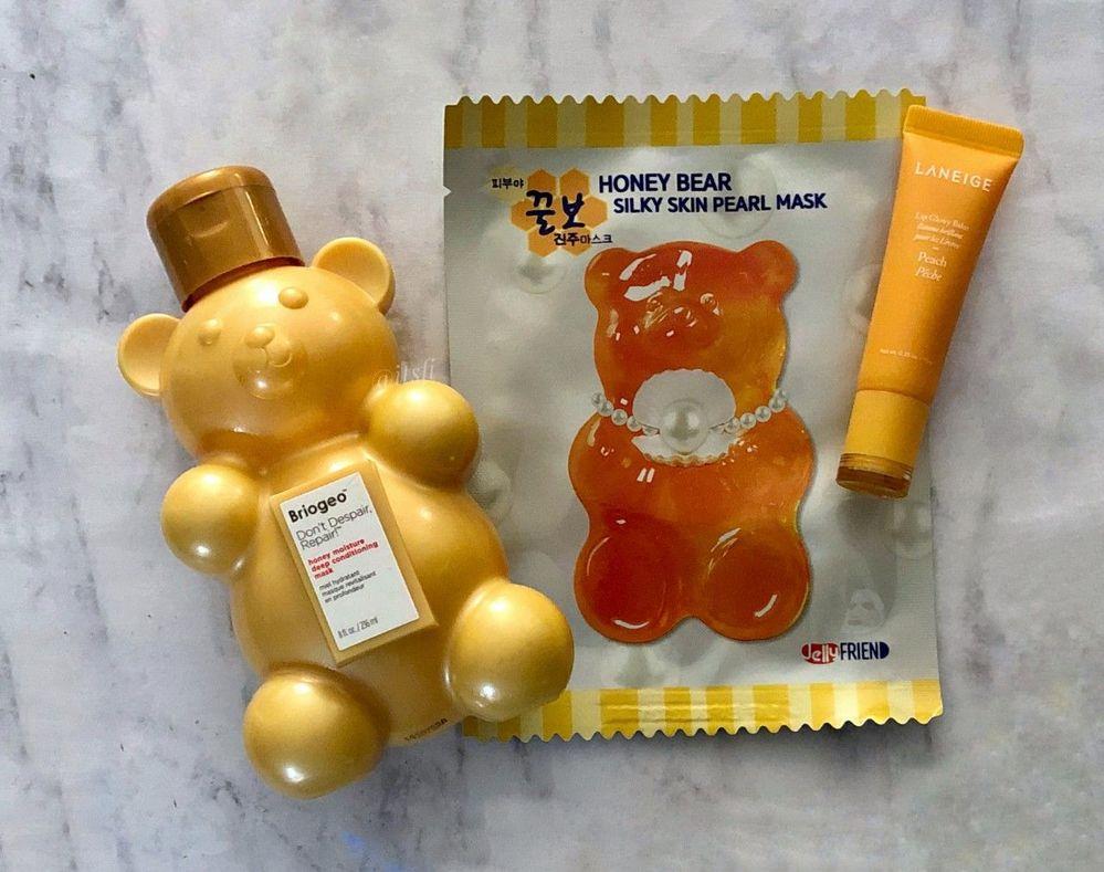 JelllyFRIEN Honey Bear Silky Skin Pearl Mask