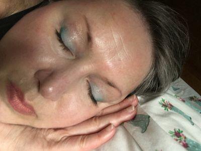 Lisa Eldridge Lucent Lippy as a stain