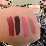 YSL-Insurgent Red, Fenty-Underdawg, Sephora Collection-Candy Love, Charlotte Tilbury-Pillowtalk
