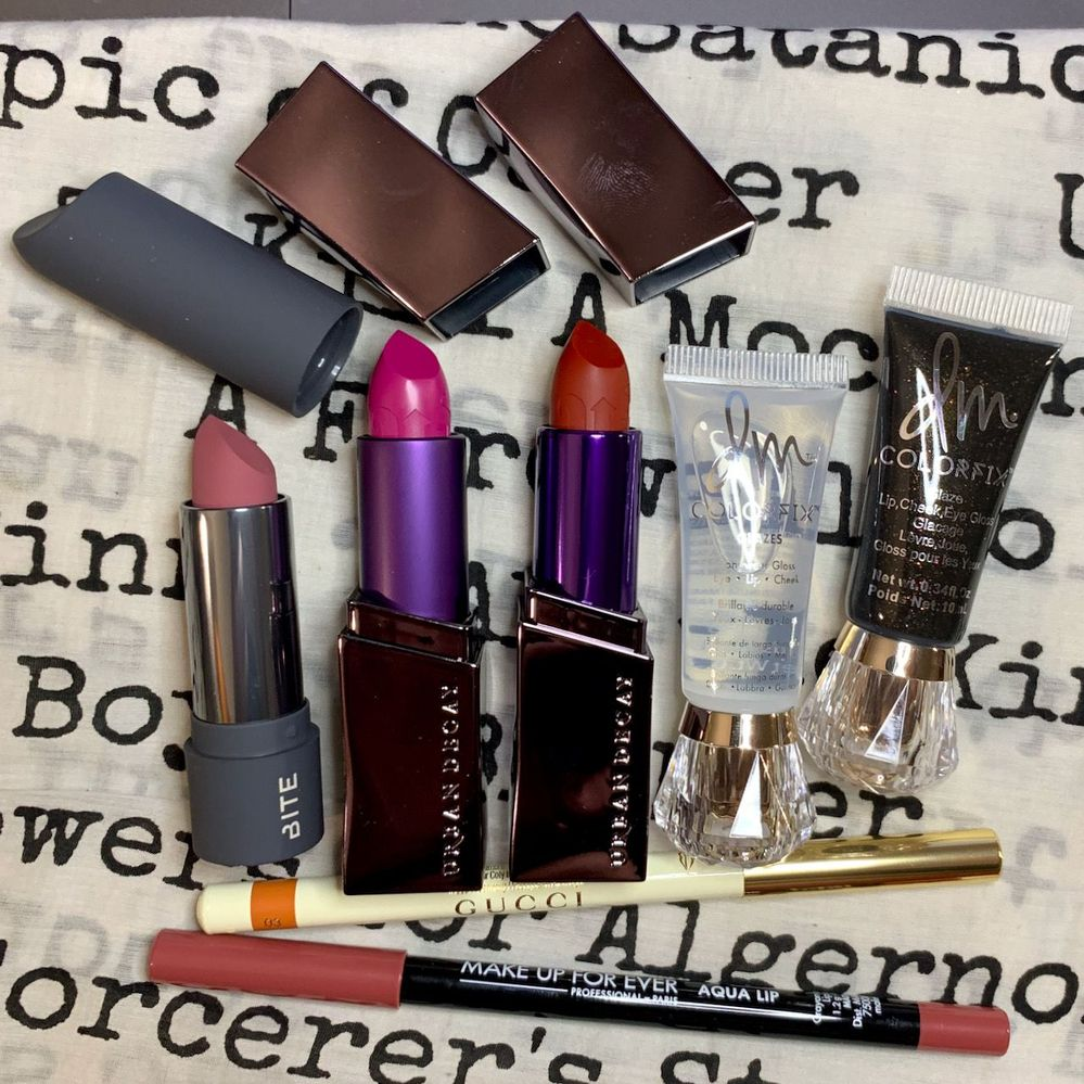 All new-to-me products or formulas.