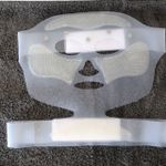 CT cryo mask - exterior view
