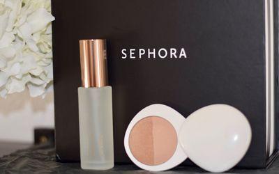 lilah b. Aglow Face Mist; lilah b. Bronzed Beauty in b. sun-kissed