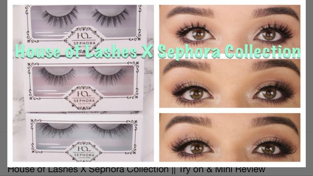 b75369719d4 House of Lashes Seductress DISCONTINUED?... - Beauty Insider Community