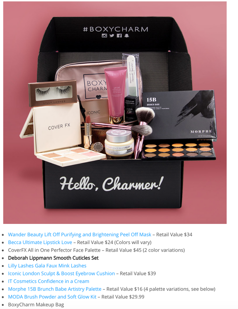 March 2019 BoxyLuxe, 1