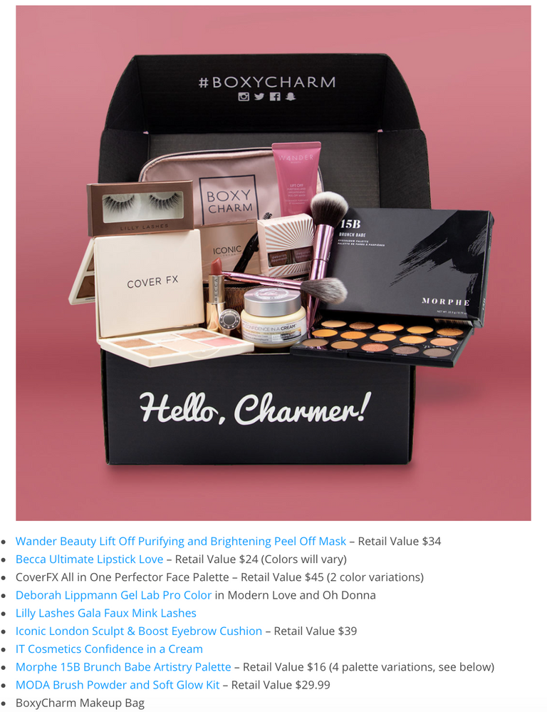 March 2019 BoxyLuxe, 2