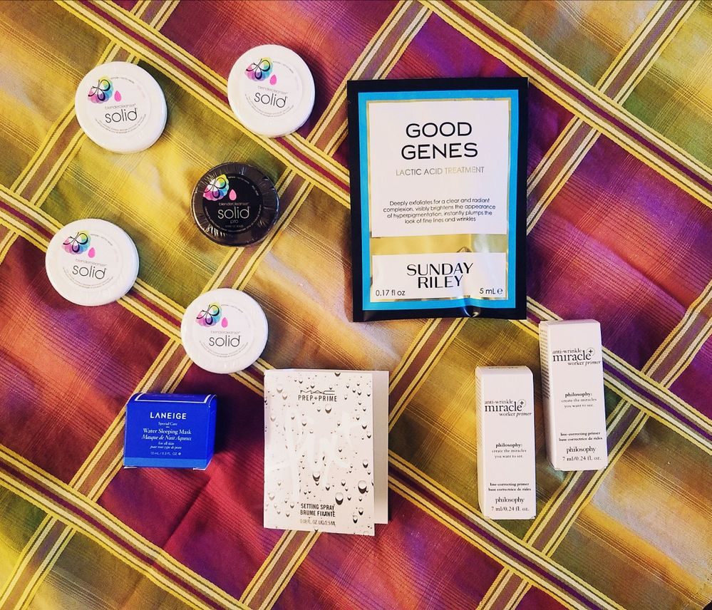 Minis/GWPs--I'm a sucker for cute little makeup and skincare items.