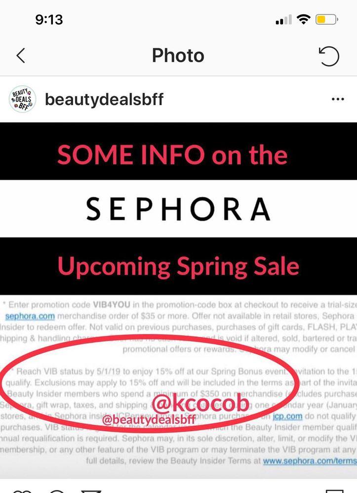 sephora canada promo code april 2019