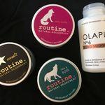 Favorite hair & body care items in April