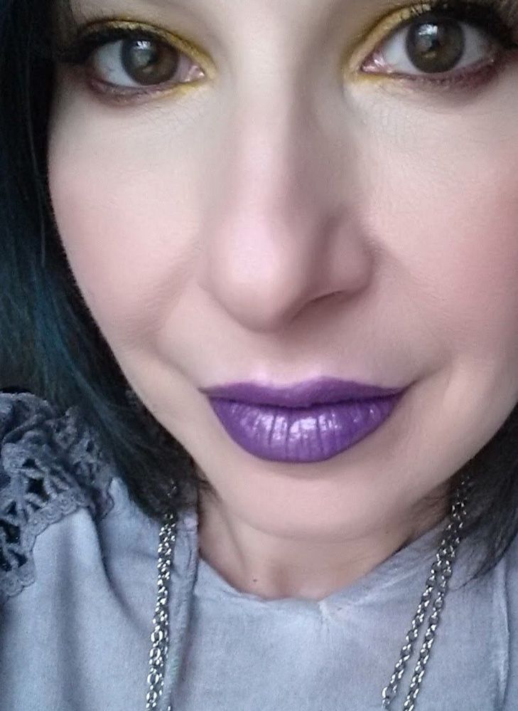 Purple Rain by DOC w Cocktail Party by NYX