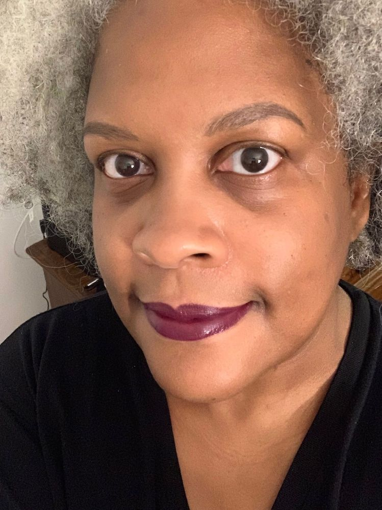 You can never have too many dark purple lipsticks!