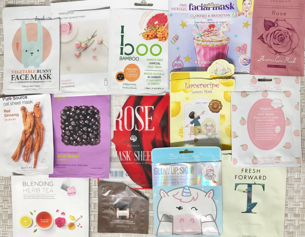 "LIKES – these were great sheet masks and, on any given day, could have easily been a LOVE, but I had to be selective about my loves this month so these didn't make it onto the ""Loves"" list for May."