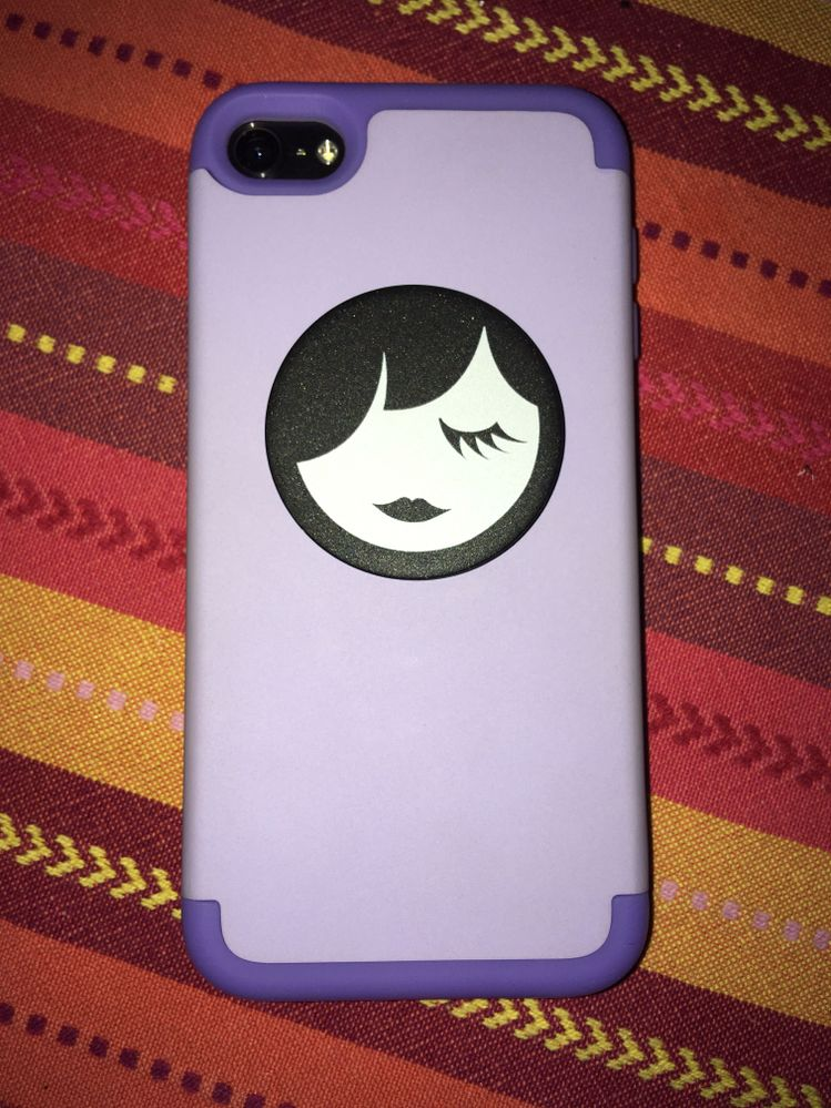 Managed to install the pop socket under my iPod's case!
