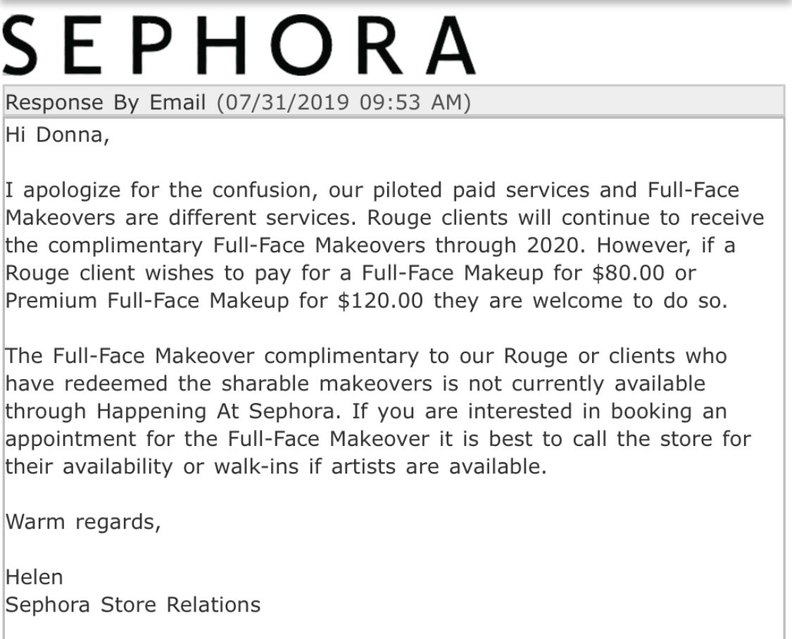 Re Charging 80 For Full Face Makeover