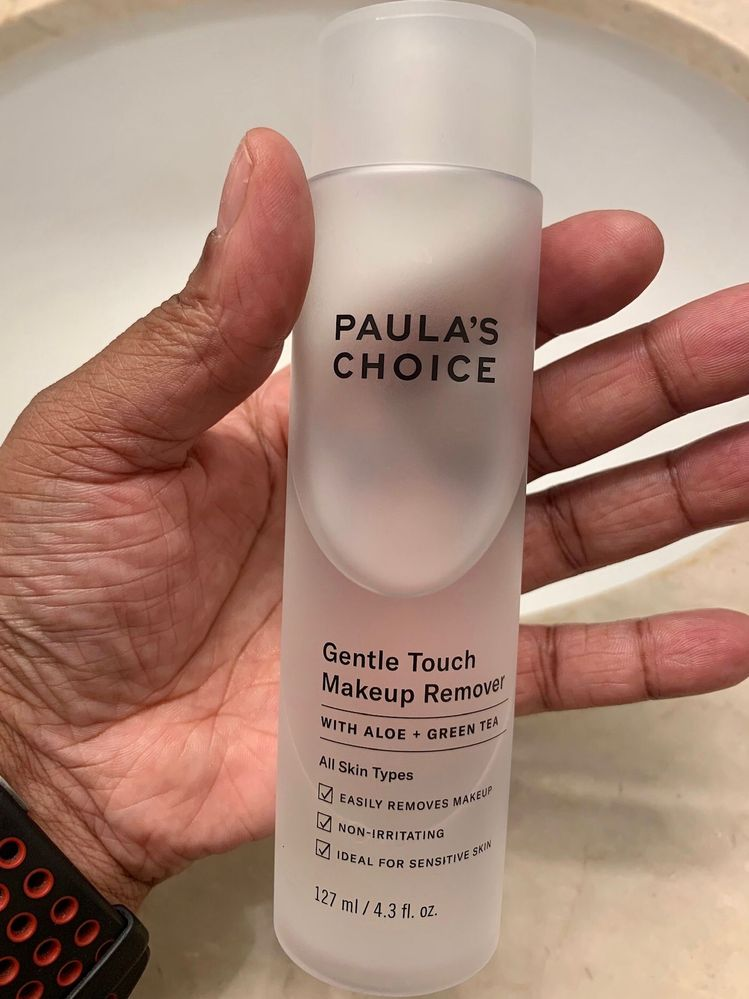 I seem to suddenly have many Paula's Choice skincare products on my counter. :D