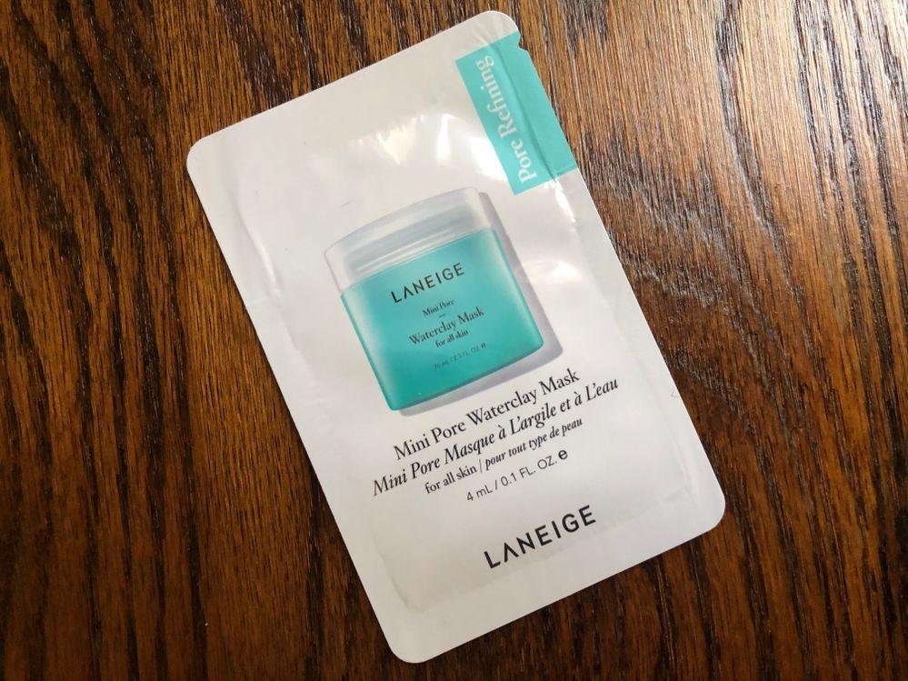 L week - Laneige Mini Pore Waterclay Mask
